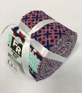 Jelly Roll Cotton Fabric Pack 2.5''x42''-Nautical