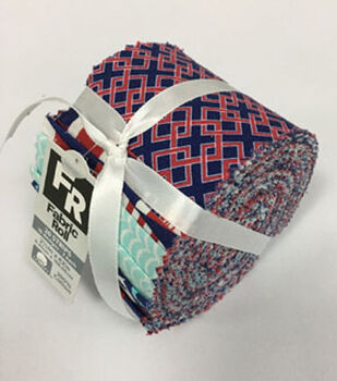 54d330baccd Jelly Roll Cotton Fabric Pack 2.5  x42  -Nautical