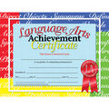 Hayes Language Arts Achievement Certificate, 30 Per Pack, 6 Packs