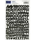 Karen Foster Cardstock Stickers-Funky Alpha