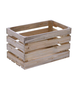 Fab Lab Small Wood Crate