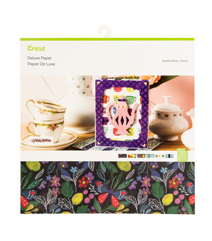 Cricut Natalie Malan 6 pk 12''x12'' Deluxe Papers-Soiree