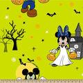 Disney Mickey & Minnie Fleece Fabric-Spooky Fun