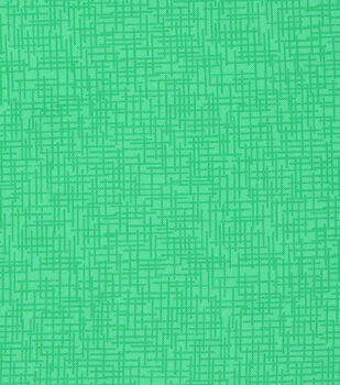 Mardi Gras Cotton Fabric-Crosshatch Green