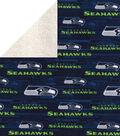 Seattle Seahawks Fleece Fabric-Sherpa