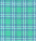 Snuggle Flannel Fabric -Watermelon Plaid