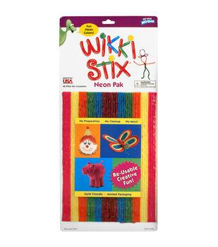 """Wikki Stix 8"""" 48/Pkg-Neon"""