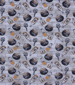 Halloween Cotton Fabric-Mixed Potions & Poisons