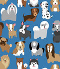 Snuggle Flannel Fabric -Puppies Party