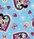 Disney Junior Minnie\u0027s Happy Helpers Fleece Fabric 59\u0027\u0027-Icons