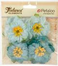 Botanica Ruffled Peony-Teal
