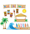 Teacher Created Resources Surfs Up Board Bulletin Display Set, 2 Sets