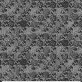 Keepsake Calico Cotton Fabric-Gray Circles with Blue Metallic