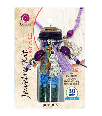 Jewelry Kit In A Bottle-Buddha