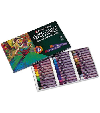 Cray-Pas Expressionist Oil Pastels 36/Pk