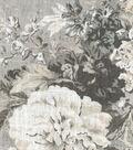 Waverly Designer Multi-Purpose Decor Fabric 54\u0022-Ballad Bouquet Platinum