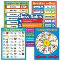Carson-Dellosa General Classroom Charts Set of 5