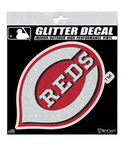 Cincinnati Reds Metallic Decal, , hi-res