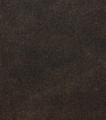 Holiday Metallic Tulle Netting-Black & Gold
