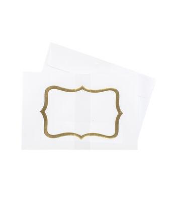 Park Lane A9 Envelopes-Gold Cartouche
