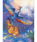 Bird Of Happiness Stamped Cross Stitch Kit 14 Count