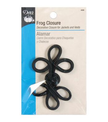 Frog Closure 3-loop 3in Black