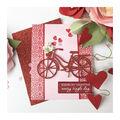 Hero Arts Cling Stamps 6\u0027\u0027X6\u0027\u0027-Hearts & Flowers