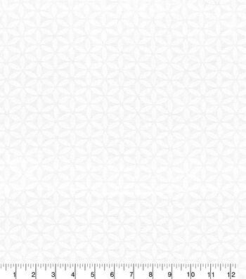 "Kelly Ripa Sheer Fabric 55""-Ringmaster Snow"