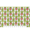 Snuggle Flannel Fabric -Colorful Pineapples