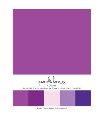 Park Lane 50 pk 8.5''x11'' Value Papers-Purple