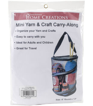 Innovative Home Creations Yarn & Craft Carry-Along 8''x12''