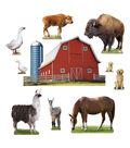 TREND enterprises, Inc. Animals on the Farm Bulletin Board Set, 2 Sets