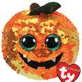 Ty Flippables Sequin Regular Halloween Pumpkin