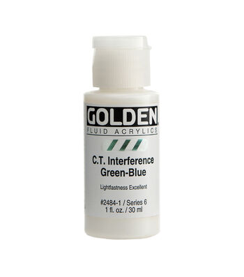 Golden Interference Fluid Color