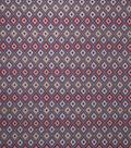 Home Decor 8\u0022x8\u0022 Fabric Swatch-Upholstery Fabric Eaton Square Medford Black