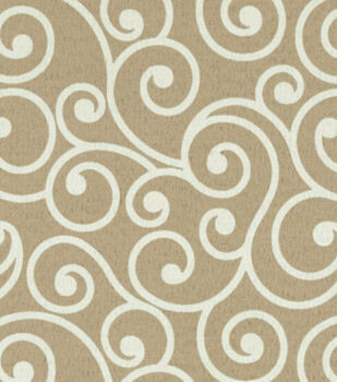 """Better Homes and Gardens Outdoor Fabric 54""""-Ornament Linen"""
