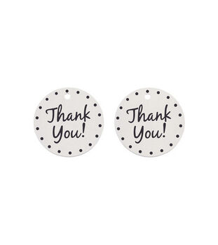 Wilton 12pk Thank You Accent Charms
