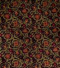 Jaclyn Smith Upholstery Fabric 54\u0022-Clarinet/Berry