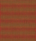 Christmas Cotton Fabric 44\u0022-Glitter Red & Green Holiday Stripes
