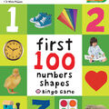 First 100 Numbers Colors Shapes Bingo Game