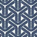 PKL Studio Outdoor Fabric-Topsail Trellis Navy