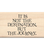 Inkadinkado Mounted Rubber Stamp-Destination, , hi-res