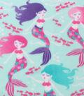 Blizzard Fleece Fabric -Beautiful Mermaids