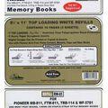 Pioneer Universal Top Loading Page Protectors 5PK-8.5\u0022x11\u0022