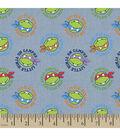 Teenage Mutant Ninja Turtles Chambray Fabric 43\u0022-Tossed