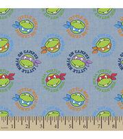 Teenage Mutant Ninja Turtles Chambray Fabric -Tossed, , hi-res