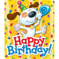 Carson Dellosa Happy Birthday Stickers, 24 Per Pack, 12 Packs