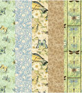 Fat Quarters Fabric Roll-Morning Song