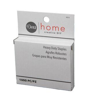Dritz Home Heavy Duty Staple Gun Refill Staples