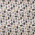 Super Snuggle Flannel Fabric-Pattern Trap Cat